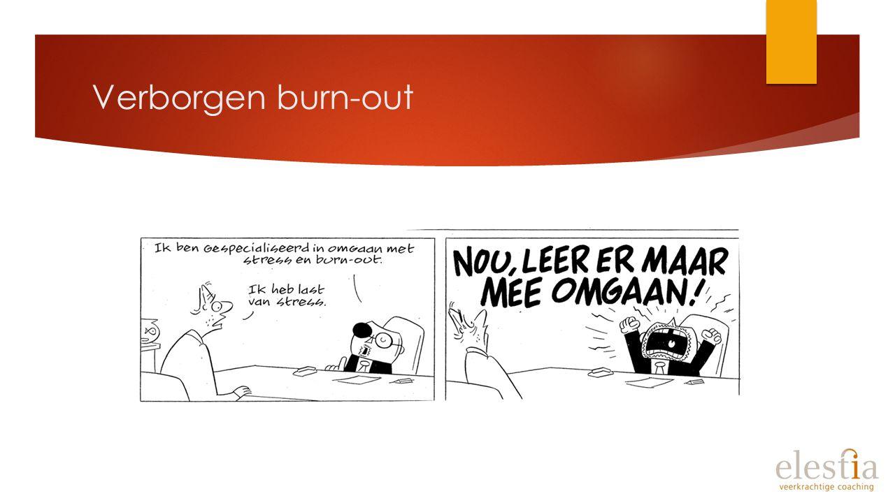 Verborgen burn-out