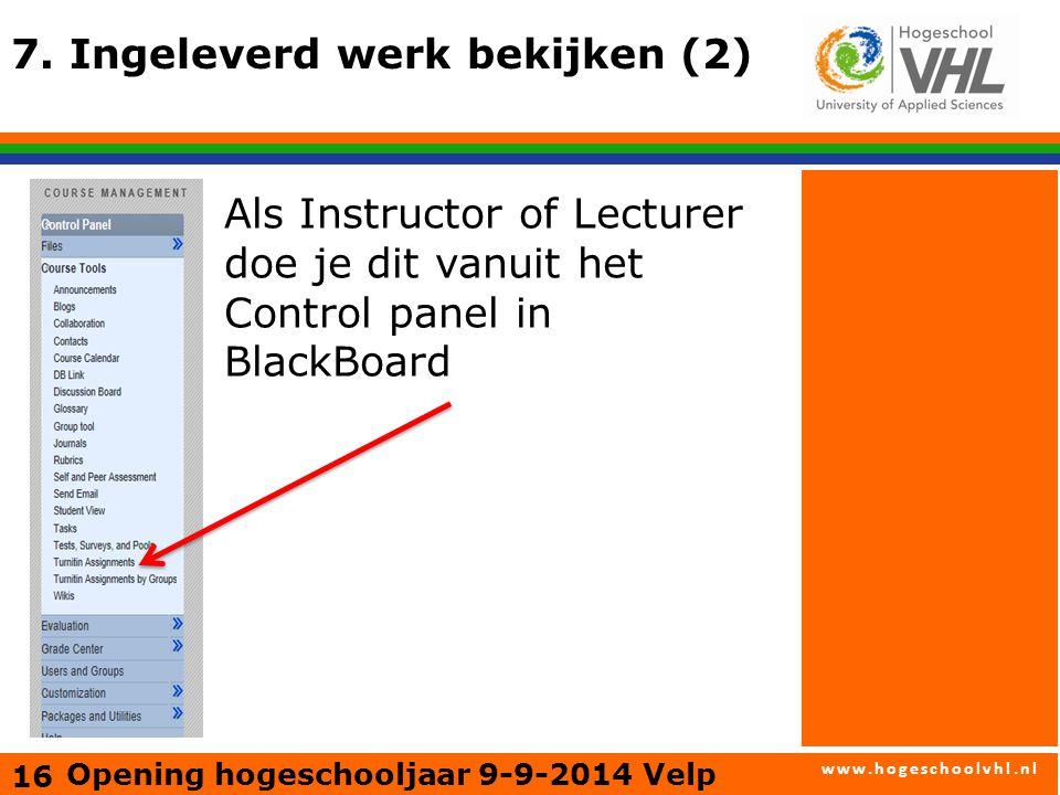 www.hogeschoolvhl.nl 7.