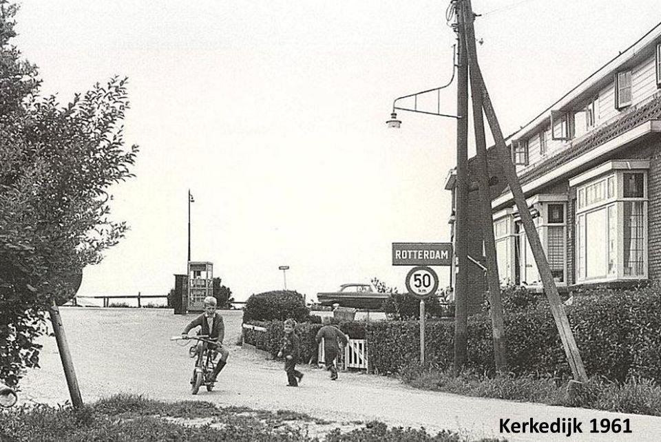 Katendrechtse Lagedijk, rond 1940