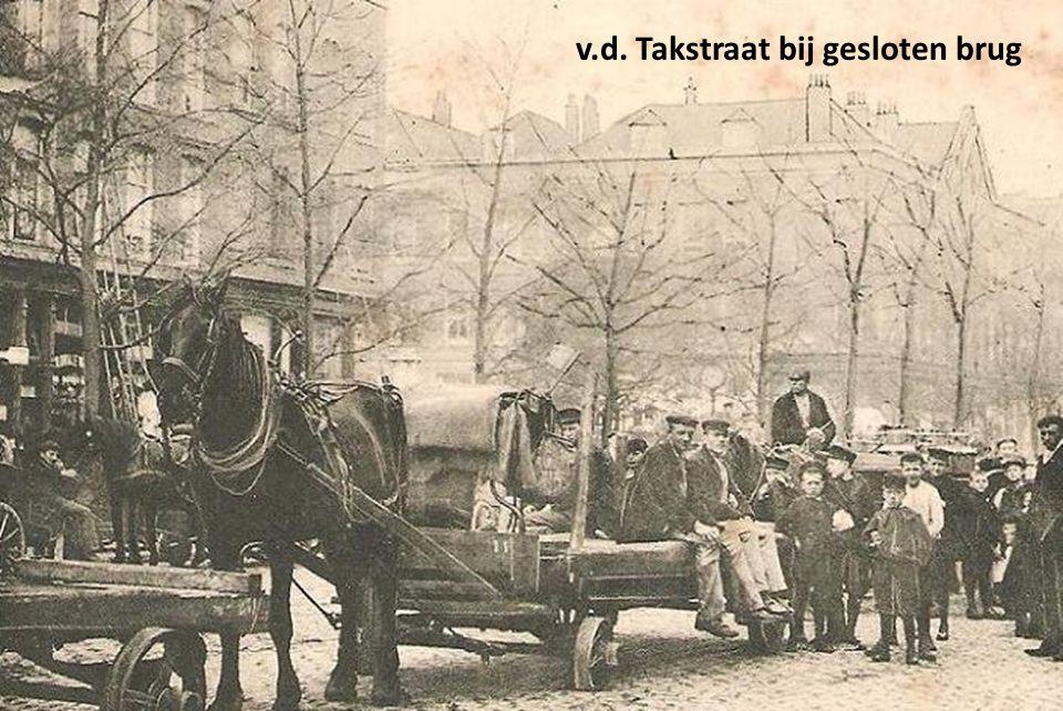 Stieltjesplein 1963, met strenge winter