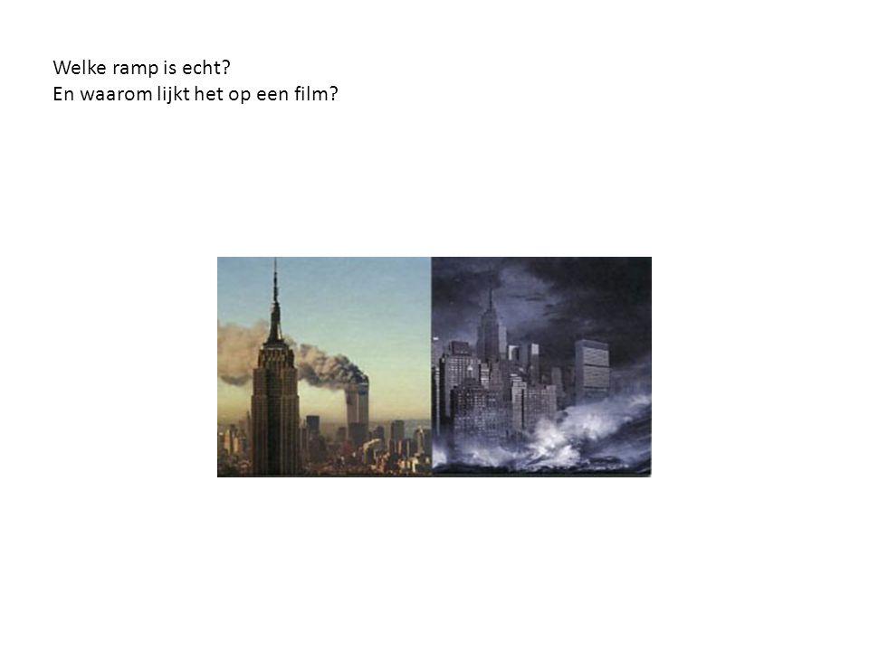 Welke ramp is echt? En waarom lijkt het op een film?