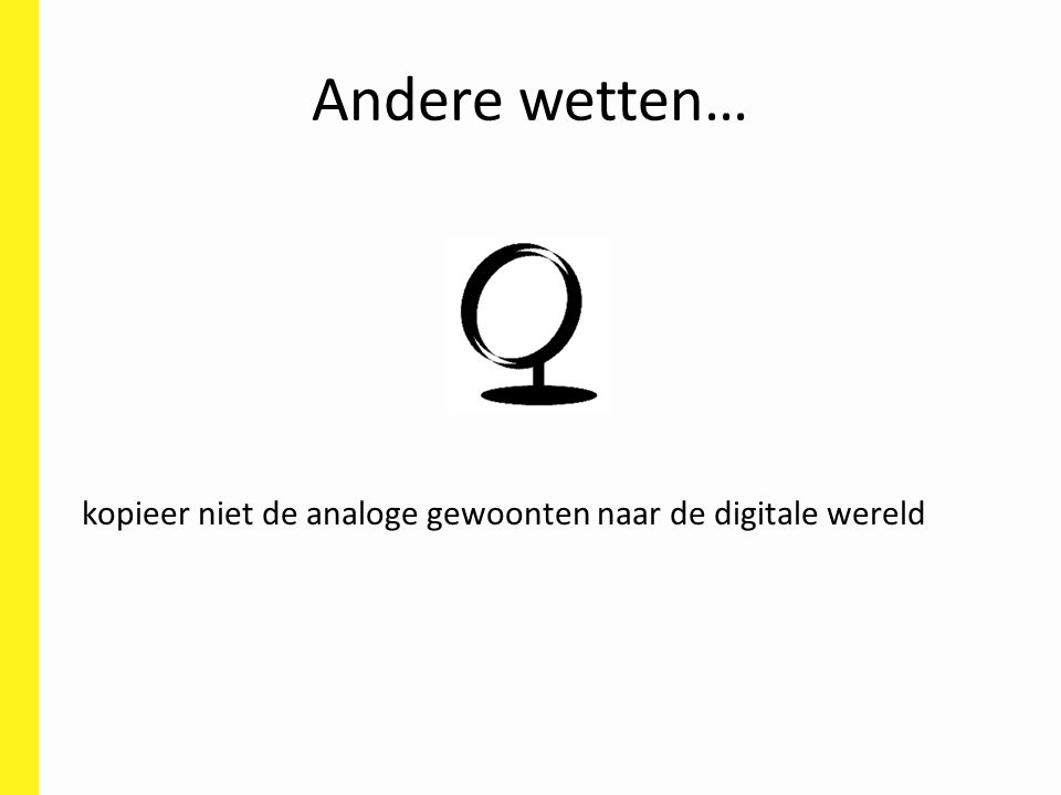 Wat is de oplossing? Risicoanalyse