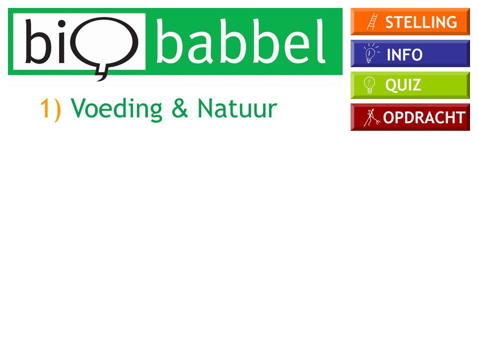 Waaraan kan je een bio-ei in de winkel herkennen? A) de bruine kleur B) het bio-label C) de grootte