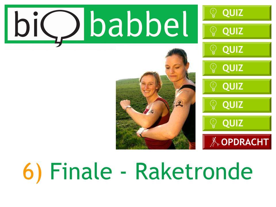 6) Finale - Raketronde