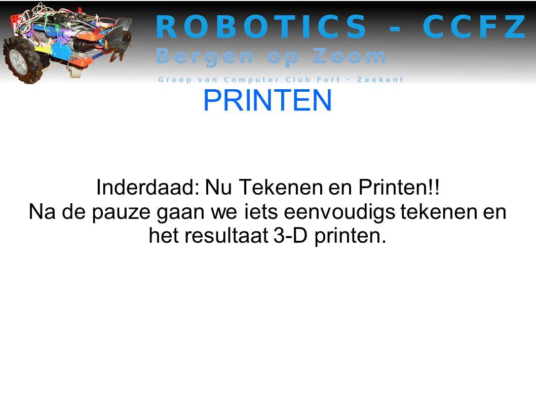 PRINTEN Inderdaad: Nu Tekenen en Printen!.