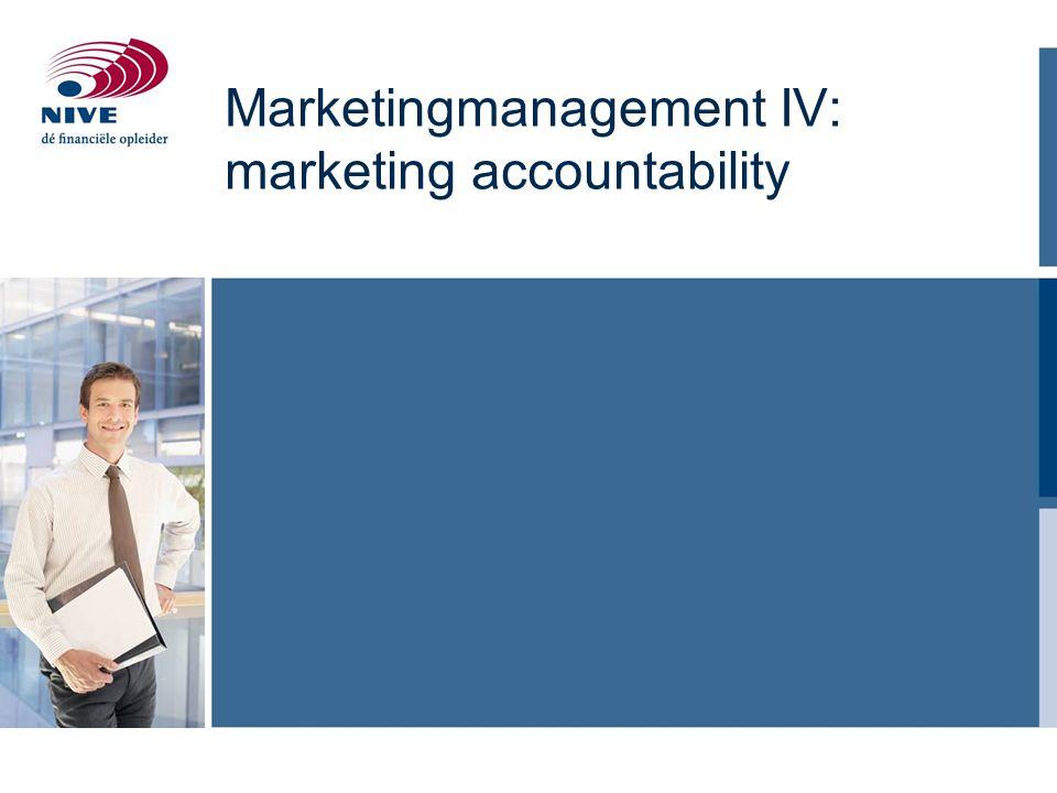 Agenda Trends in marketing accountability Korte- en lange termijn focus Het Customer Equity Model Customer Lifetime Value en CLV modellen Marketing en sales op diverse niveaus De rol van Social Media Het marketing en sales Performance Dashbord 2