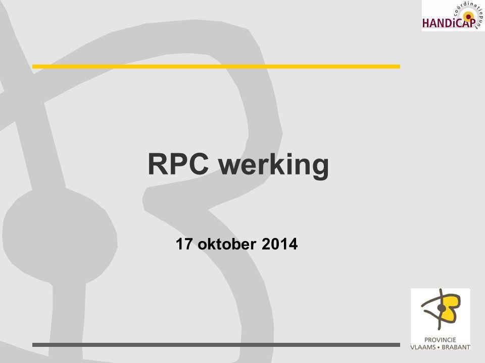 RPC werking 17 oktober 2014