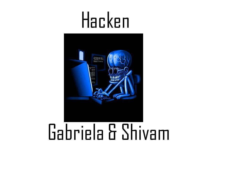 Inleiding We hebben er allemaal wel eens van gehoord: hacken, iemands computer inbreken voor de lol of voor wraak.