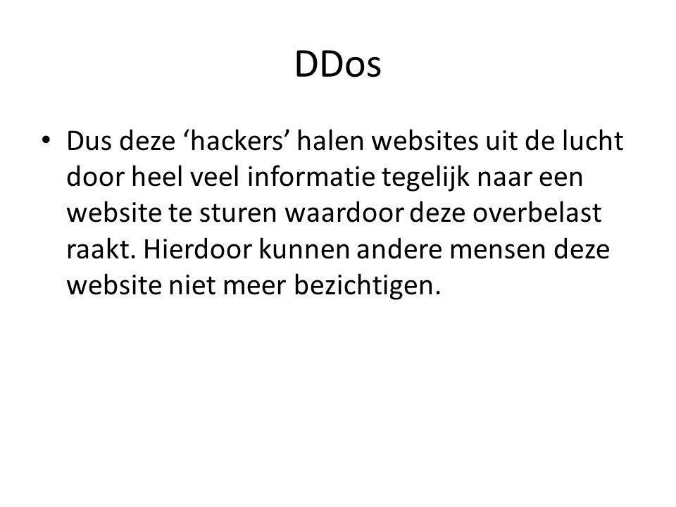 Einde Zoals jullie net hebben gezien zijn er heel veel manieren van hacken