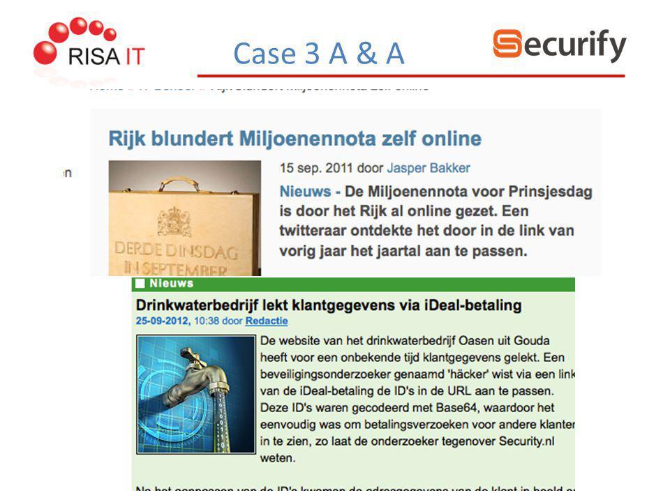Case 3 A & A
