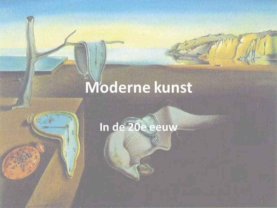 Moderne kunst In de 20e eeuw