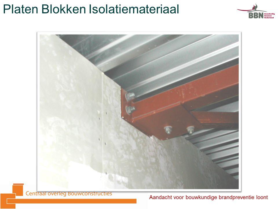Platen Blokken Isolatiemateriaal