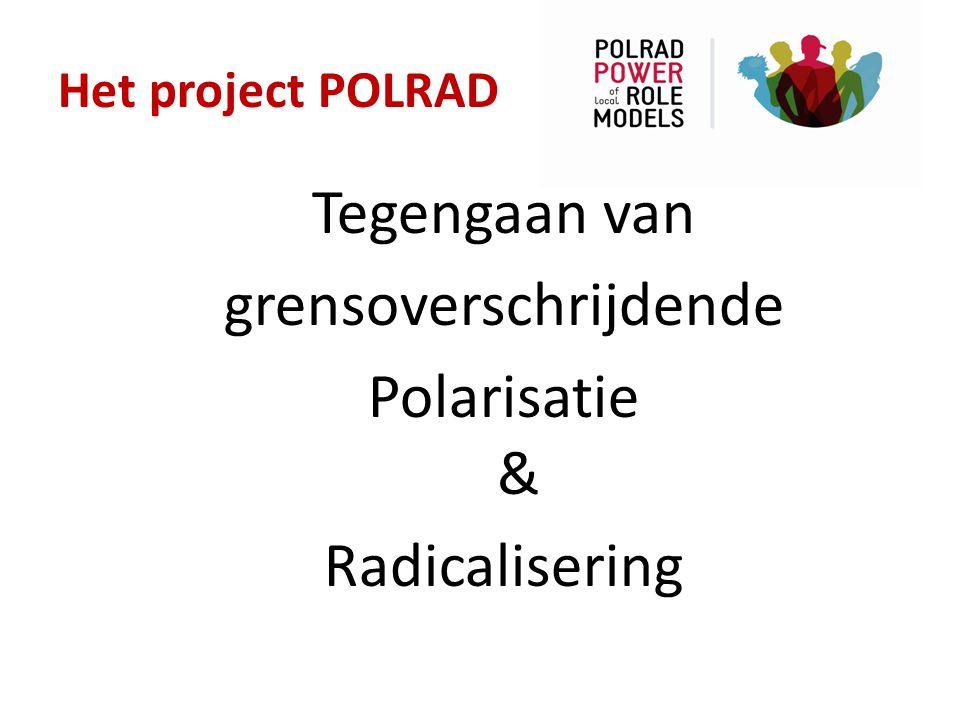 Het project POLRAD Preventie activiteiten SAMEN met een rolmodel Voorlichting, presentaties, gastlessen en aangaan van dialoog (MEET2KNOW – MENSENBIEB - EXPRESSTV – SOMALIERSPROJECT – MULTIPROBLEMJONGERENPROJECT) Verspreiden van….