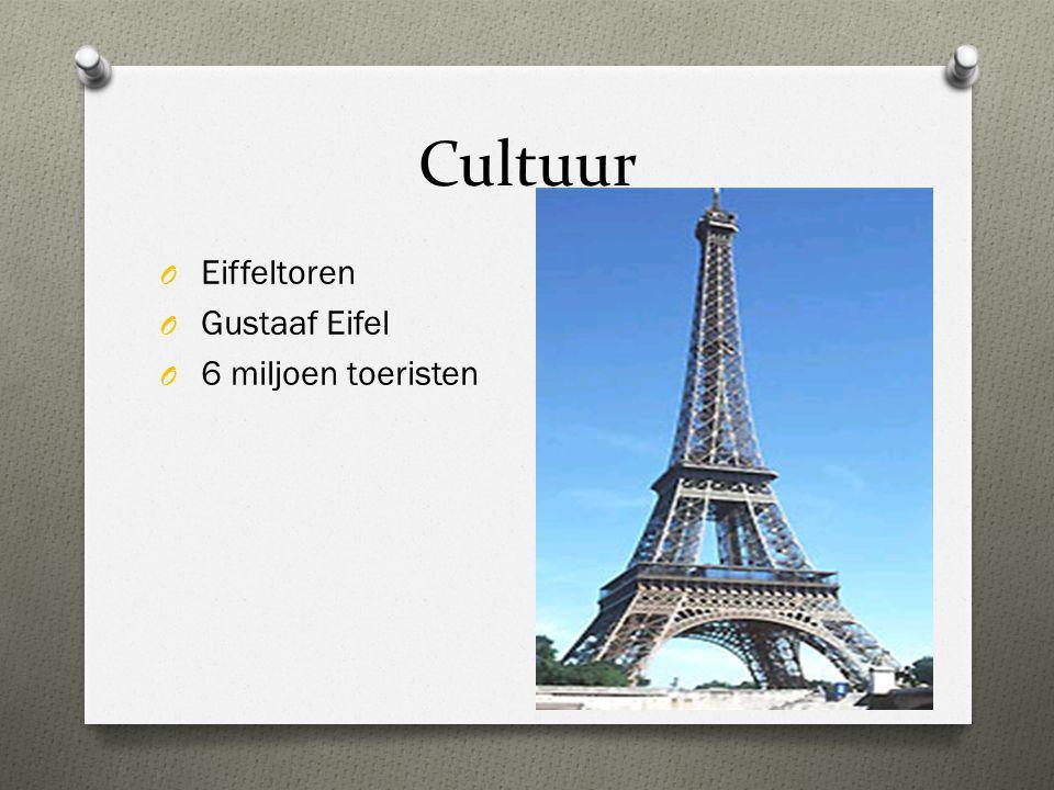 Cultuur O Eiffeltoren O Gustaaf Eifel O 6 miljoen toeristen