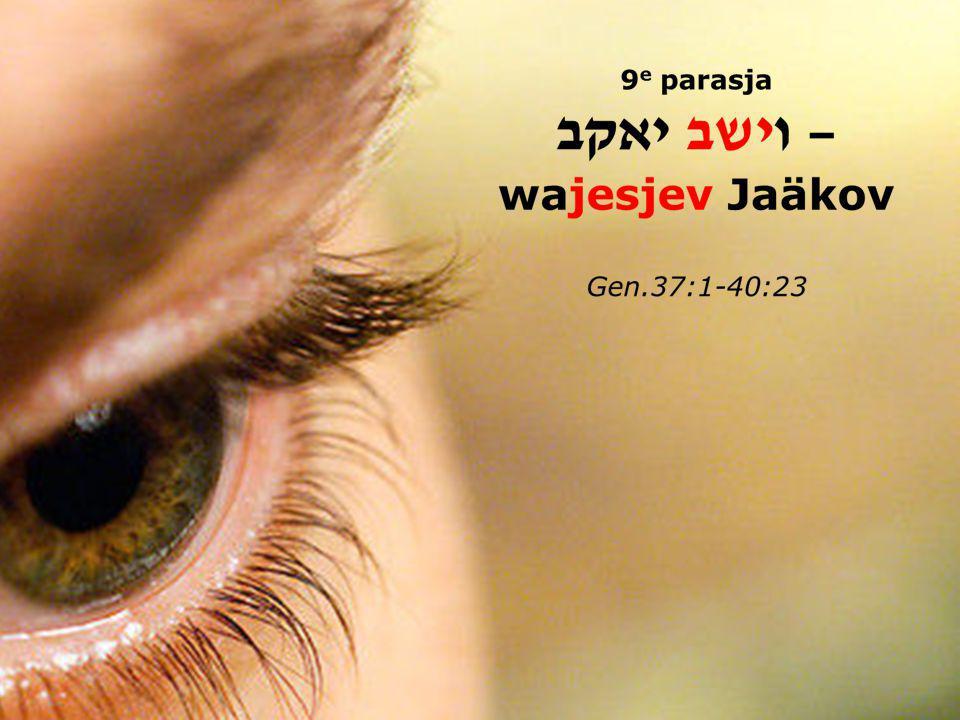 DROMEN Begin parasja 37:5 En Jozef had een droom en vertelde die aan zijn broeders PUT & TROON Slot parasja 40:5 Ze hadden beiden een droom