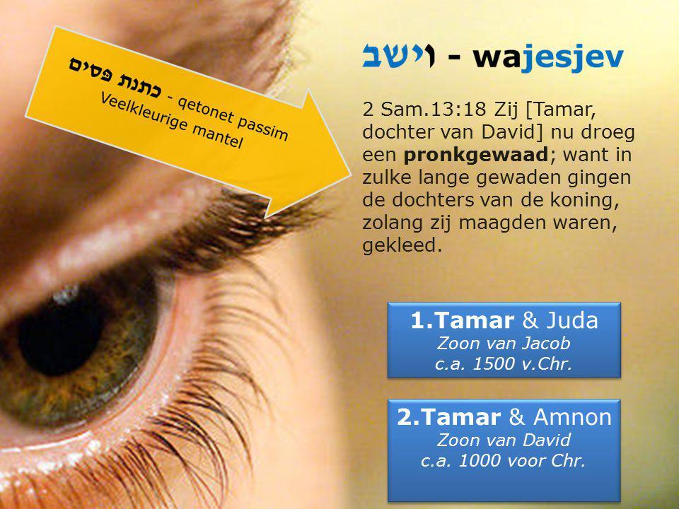 ZIEN & DROMEN 9.Daar viel het oog van Juda op de dochter van de Kanaäniet Sua.