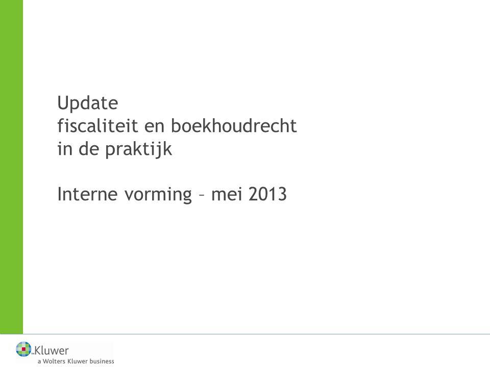 VENNOOTSCHAPSBIJDRAGE IN 2013 Permanente vrijstelling —wanneer.