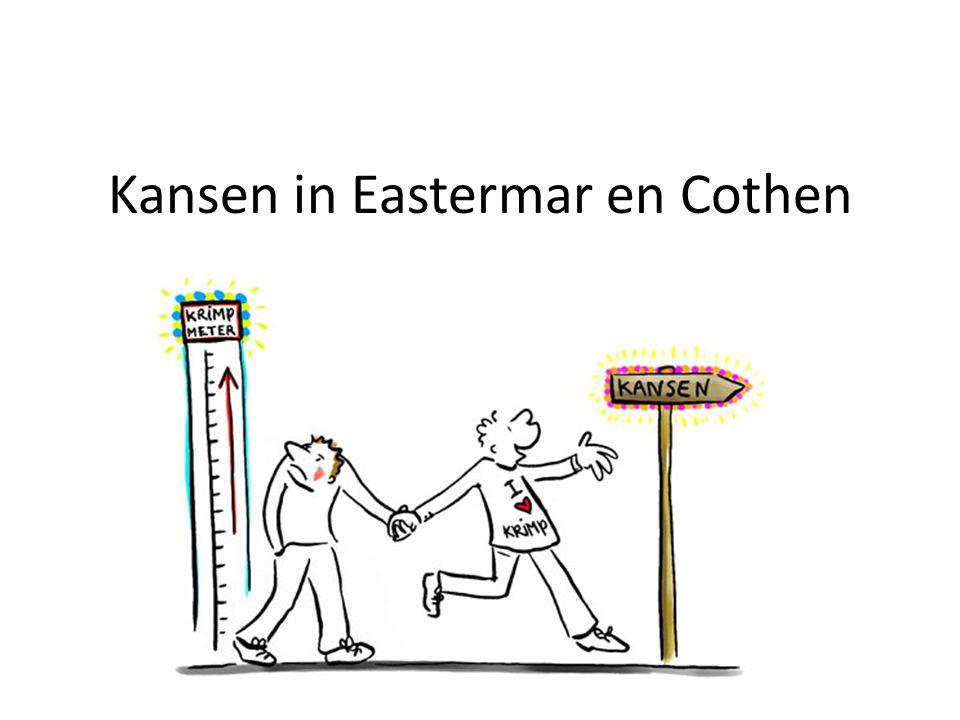 Kansen in Eastermar en Cothen