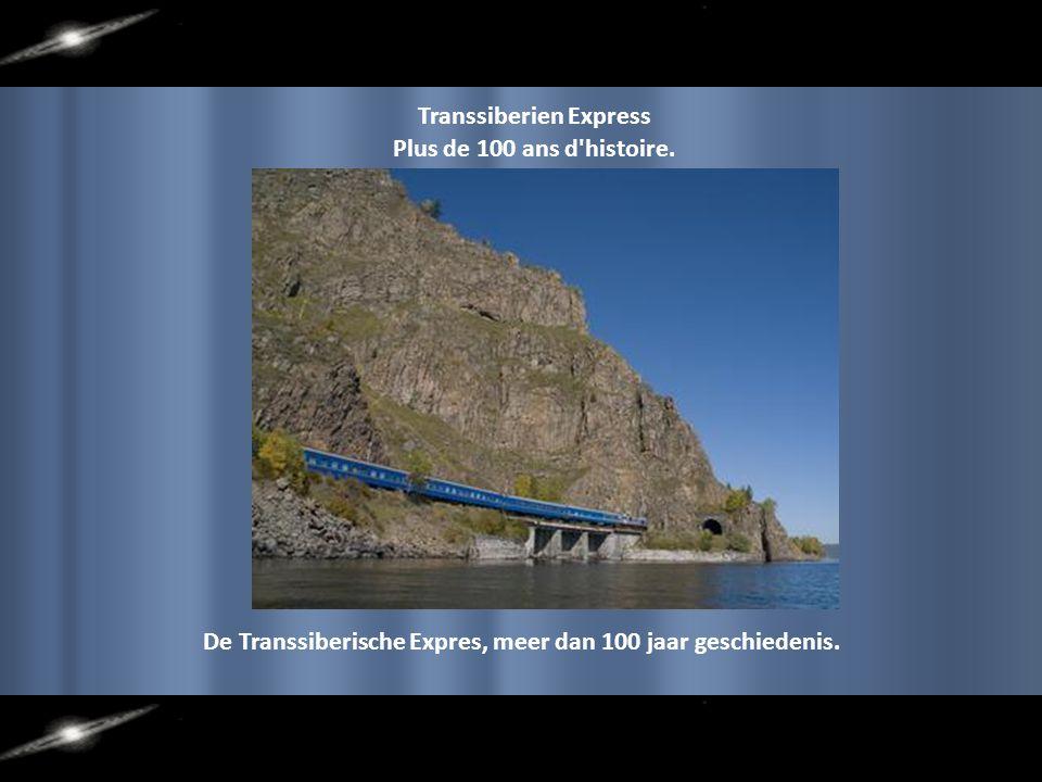 Chemin de fer Transsi- bérien dans son trajet Mos- cou à Pékin, il est le point haut, sur le tronçon du lac Baïkal, 33 200 ponts et tun- nels.