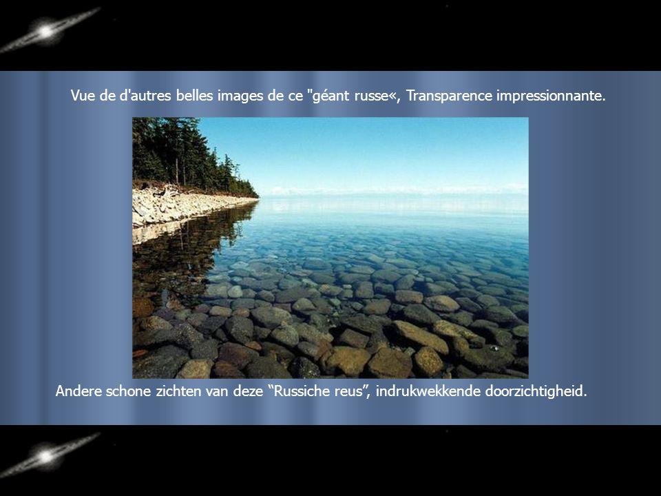 Beau paysage contournant le lac Baïkal. Mooi landschap rond het Baïkal Meer