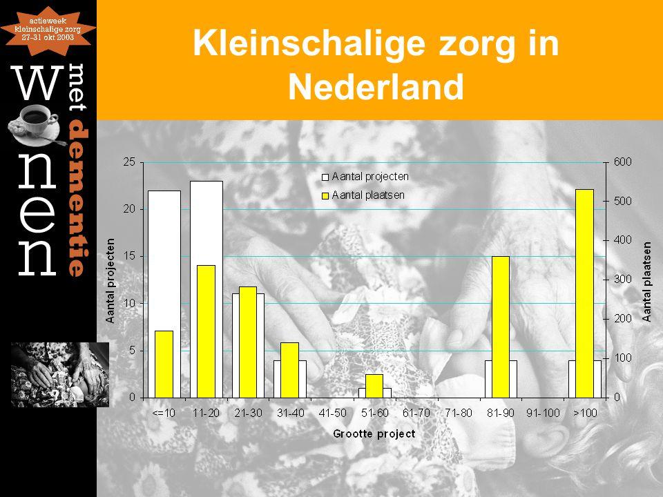 Kleinschalige zorg in Nederland