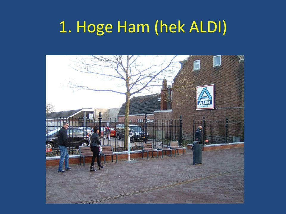 1. Hoge Ham (hek ALDI)
