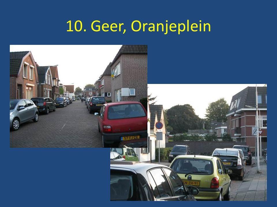10. Geer, Oranjeplein