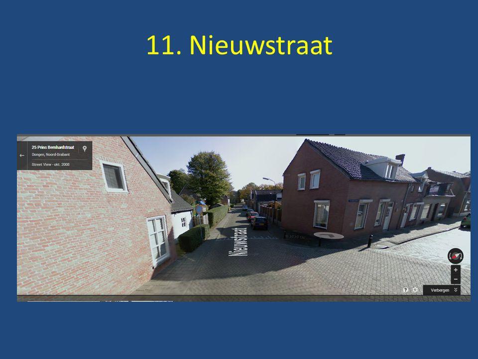 11. Nieuwstraat