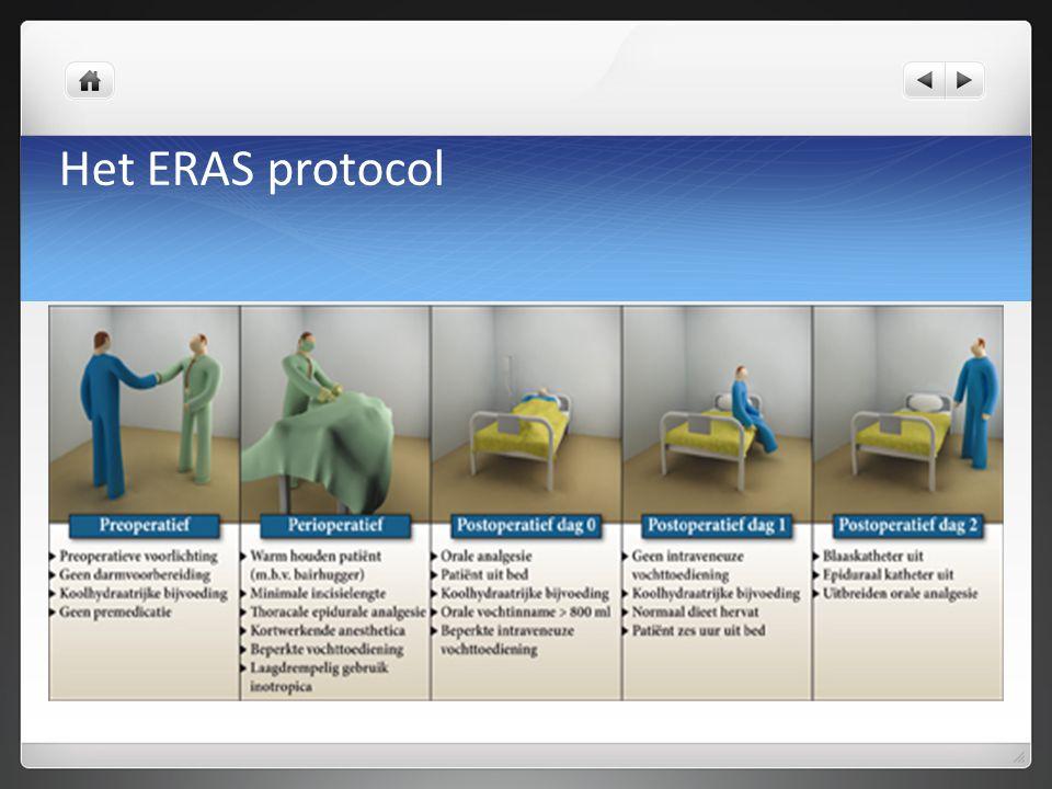 Anesthesie techniek Thoracale epiduraal= ruggenprik Er zijn contra-indicaties, de belangrijkste is doorgebruikte bloedverdunners.