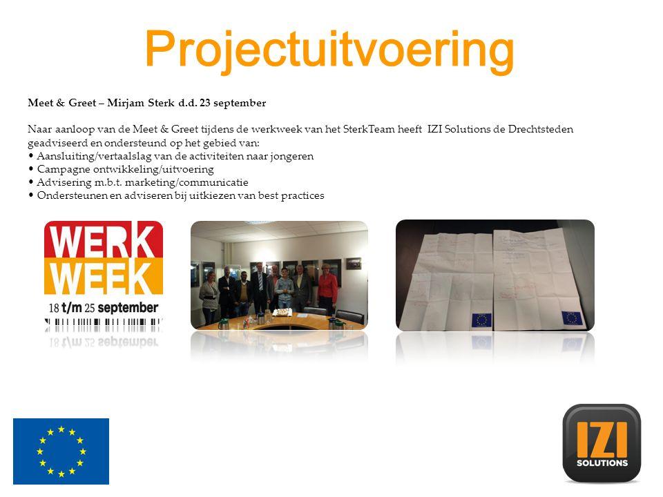 Projectuitvoering Meet & Greet – Mirjam Sterk d.d.