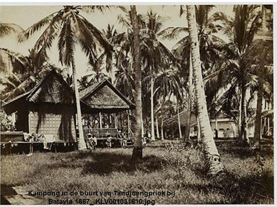 Kampong in de buurt van Tandjoengpriok bij Batavia 1867_.KLV001031610.jpg