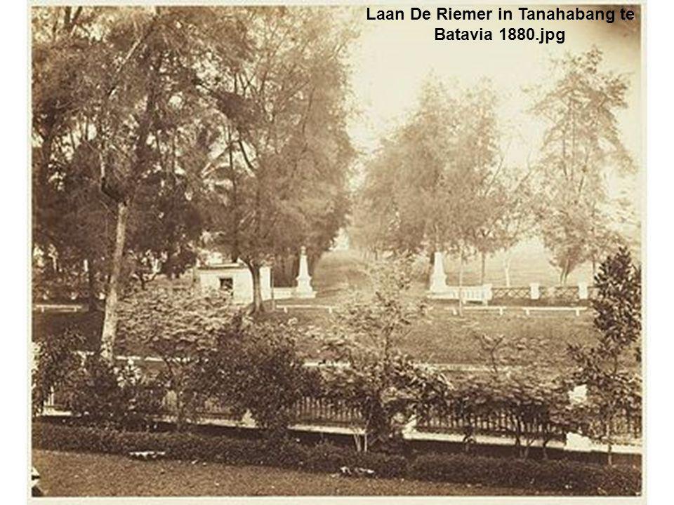 Laan De Riemer in Tanahabang te Batavia 1880.jpg