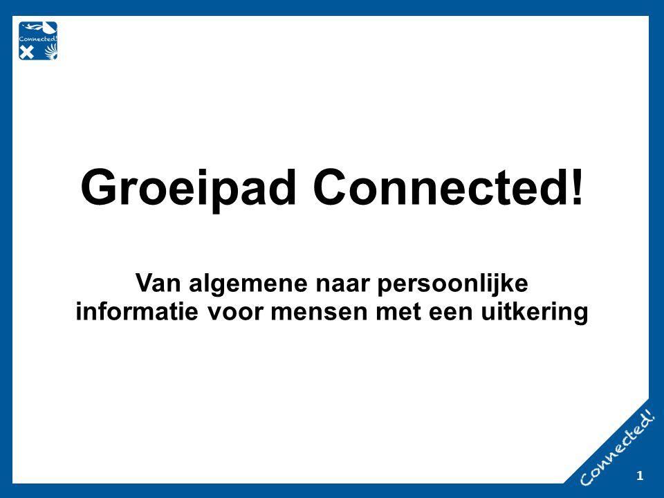 1 Groeipad Connected! Van algemene naar persoonlijke informatie voor mensen met een uitkering