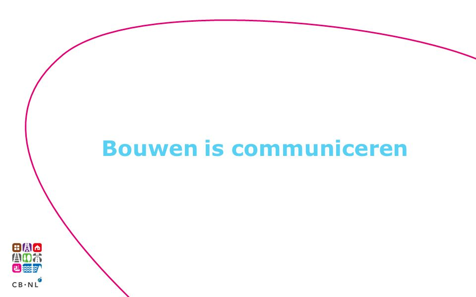 Bouwen is communiceren