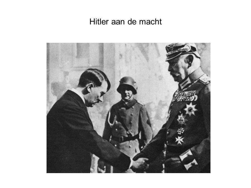 Hitler aan de macht