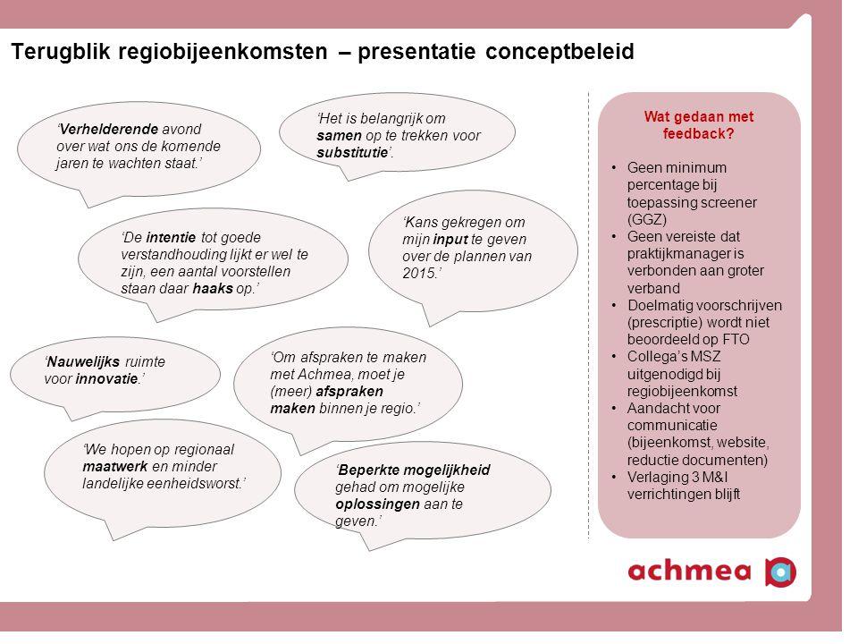 Meer informatie? www.achmea.nl/zorgaanbieders