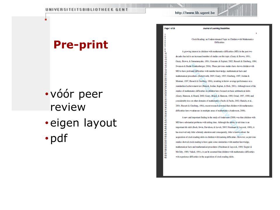 Fulltext opladen Pop-up