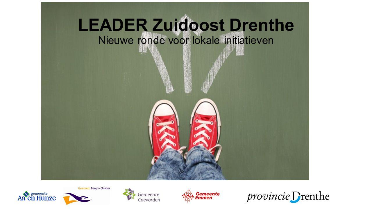 LEADER Zuidoost Drenthe Nieuwe ronde voor lokale initiatieven