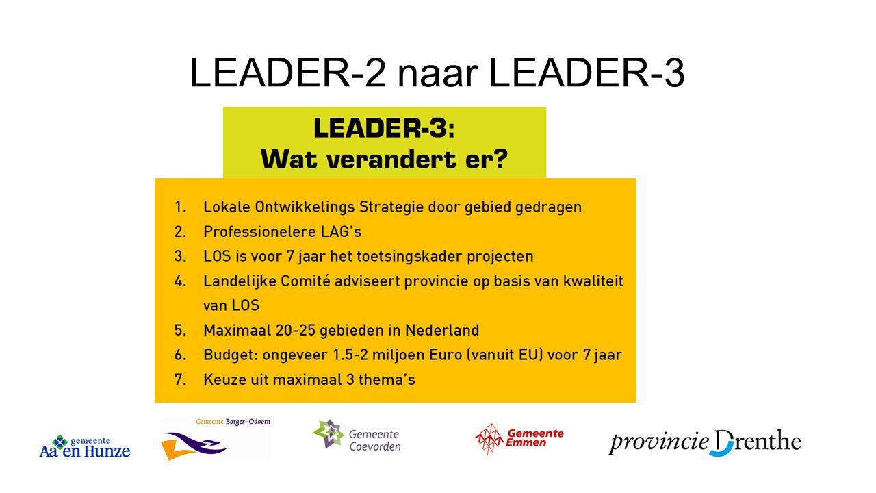 LEADER-2 naar LEADER-3