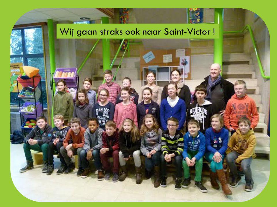 Op maandag 6 april, dinsdag 7 april en woensdag 8 april 2015 vertrekt opnieuw een groep van 23 kinderen uit het 5 de en 6 de leerjaar van VBS De Krekel naar Saint-Victor-de-Buthon .