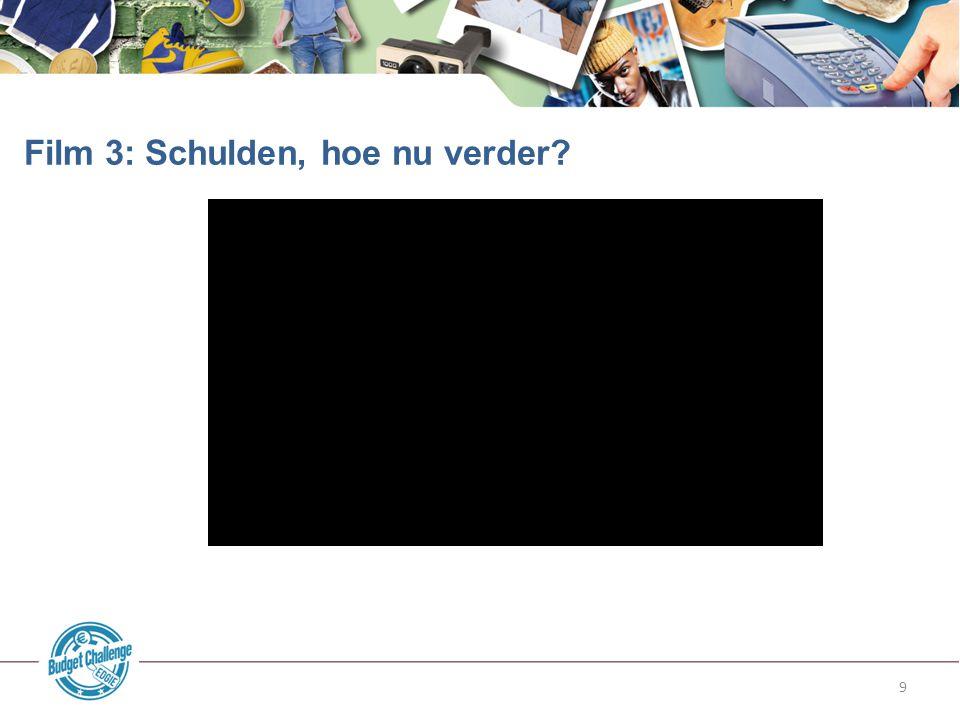 10 Hulp vragen van familie.Website met stappenplan: www.zelfjeschuldenregelen.nl.
