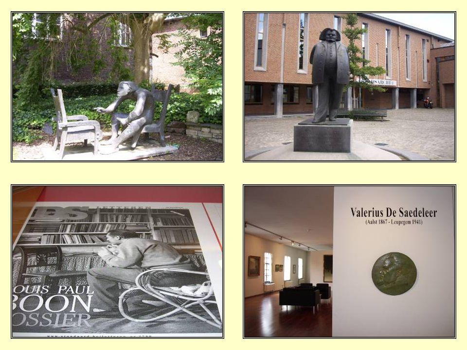 Het museum is gehuisvest in de vroegere kloostergebouwen van het Oud Hospitaal (14°-16° eeuw). Daar wordt het leven en werk belicht van de geboren Aal