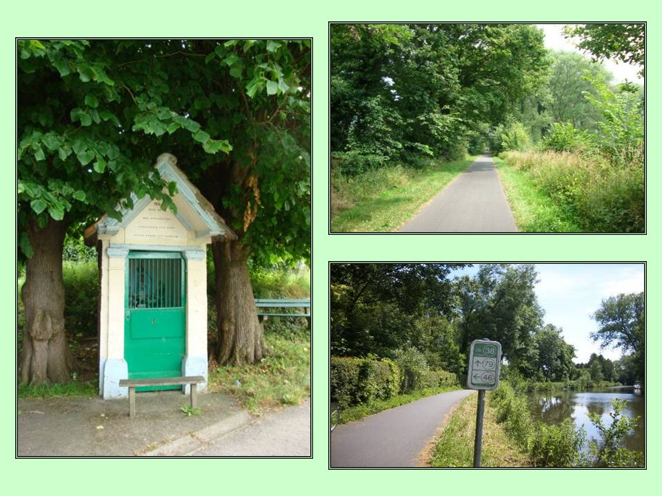 Ook aan de wandel- en fietsliefhebbers heeft Aalst en omgeving heel wat te bieden. Het vroegere jaagpad langs de Dender verbindt de fietspaden voor re