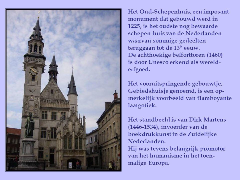 De kapel Onze-Lieve-Vrouw ter Druiven , door de Aalstenaars de Werfkapel of Schipperskapel genoemd dateert in haar huidige vorm van 1955.