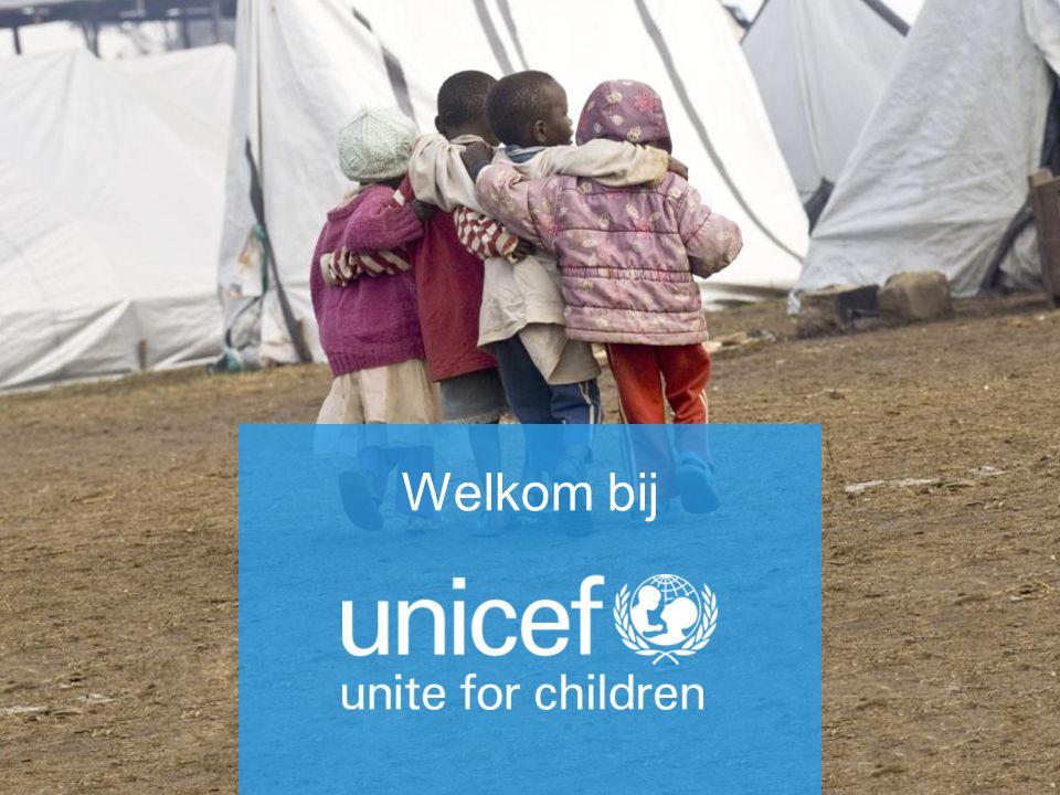 Kinderrechten in actie UNICEF Nederland 20 november 2013 Welkom bij