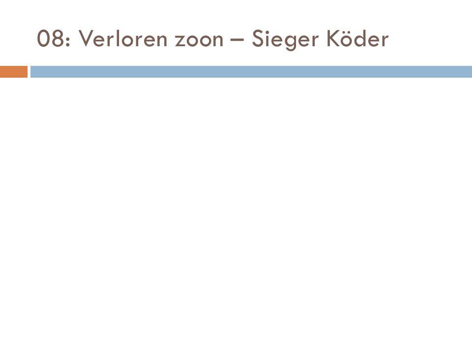08: Verloren zoon – Sieger Köder