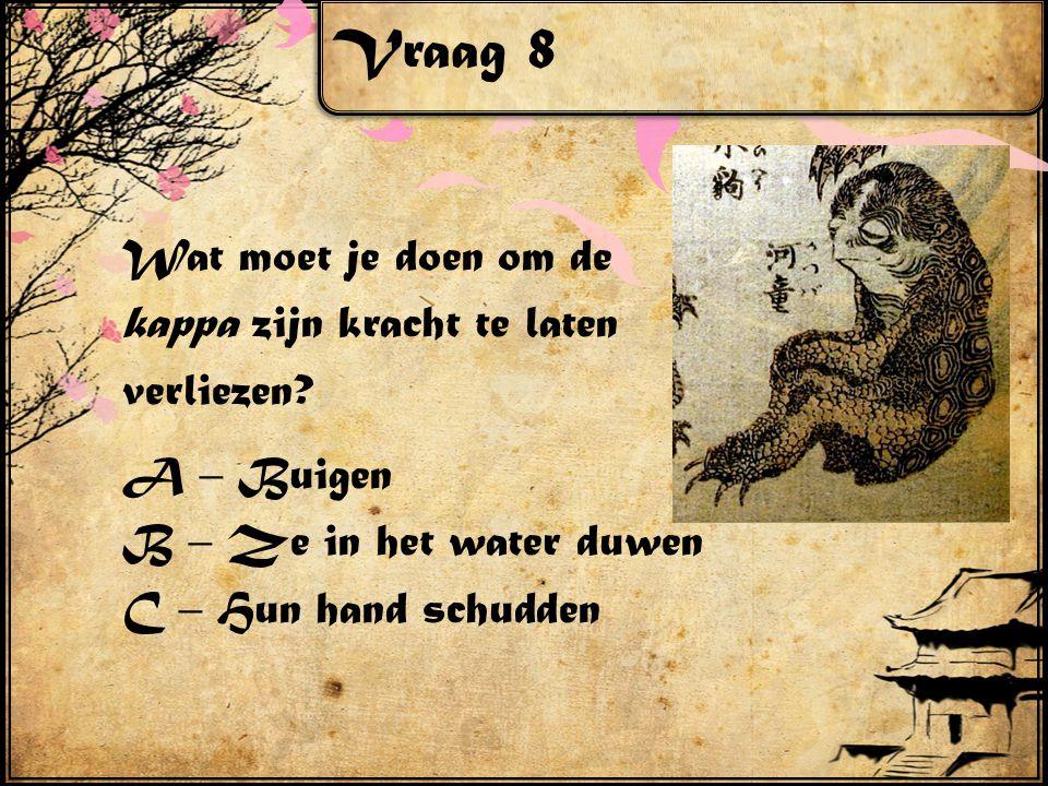 Vraag 8 Wat moet je doen om de kappa zijn kracht te laten verliezen.