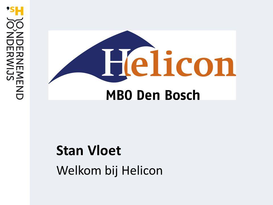 Stan Vloet Welkom bij Helicon