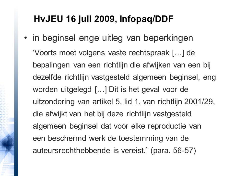 HvJ EU 11 september 2014, zaak C-117/13, TU Darmstadt/Ulmer probleem: nuttige werking denkbaar zonder digitaliseringsbevoegdheid.