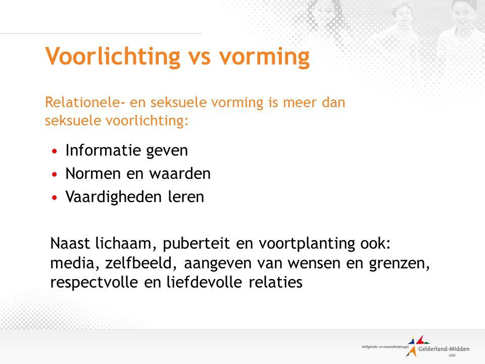 Meer informatie: www.uwkindenseks.nl www.ouders.nl/vseks.htm www.jmouders.nl www.jmouders.nl Opvoeding> Opvoed ABC > Seksuele opvoeding